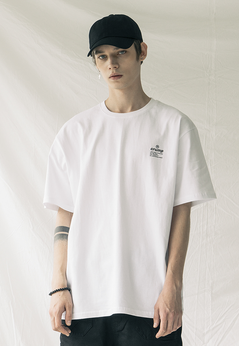 [크럼프] Crump circle tee(CT0162-1)
