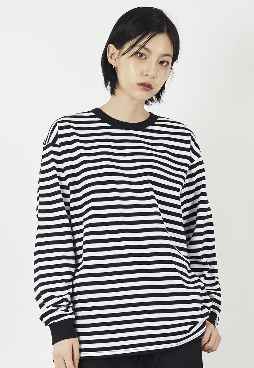[크럼프] Crump overfit stripe long sleeves (CT0220)
