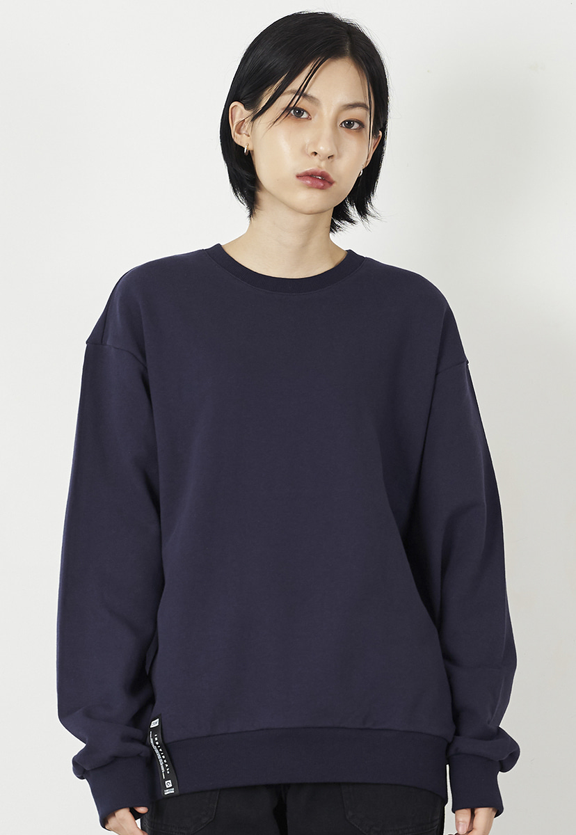 [크럼프] Crump overfit solid crewneck (CT0223-1)