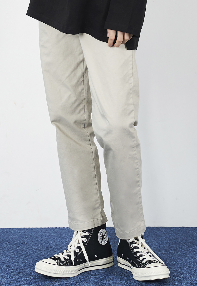 [크럼프] Crump straight fit cotton pants (CP0108-2)