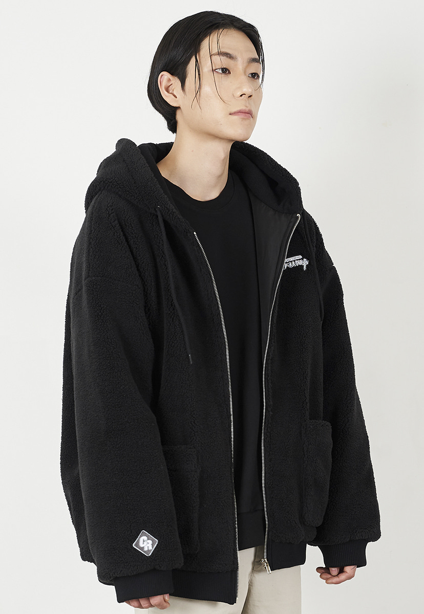 [크럼프] Crump cozy boa fleece hoodie zipup (CO0029)