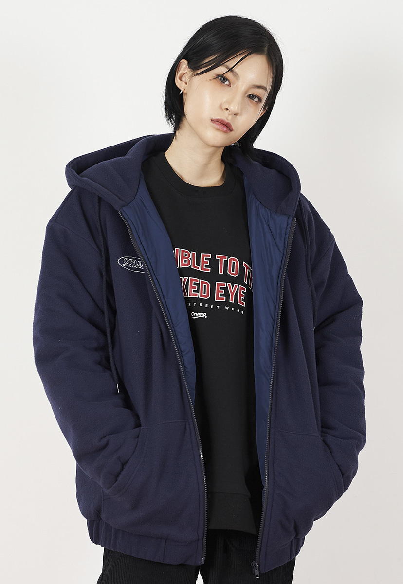[크럼프] Crump overfit fleece hoodie zipup (CO0035-1)