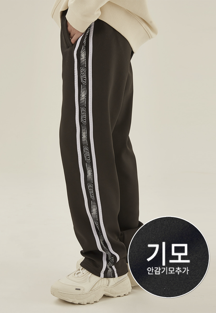 [크럼프] [기모] Crump friction track pants (CP0119g)