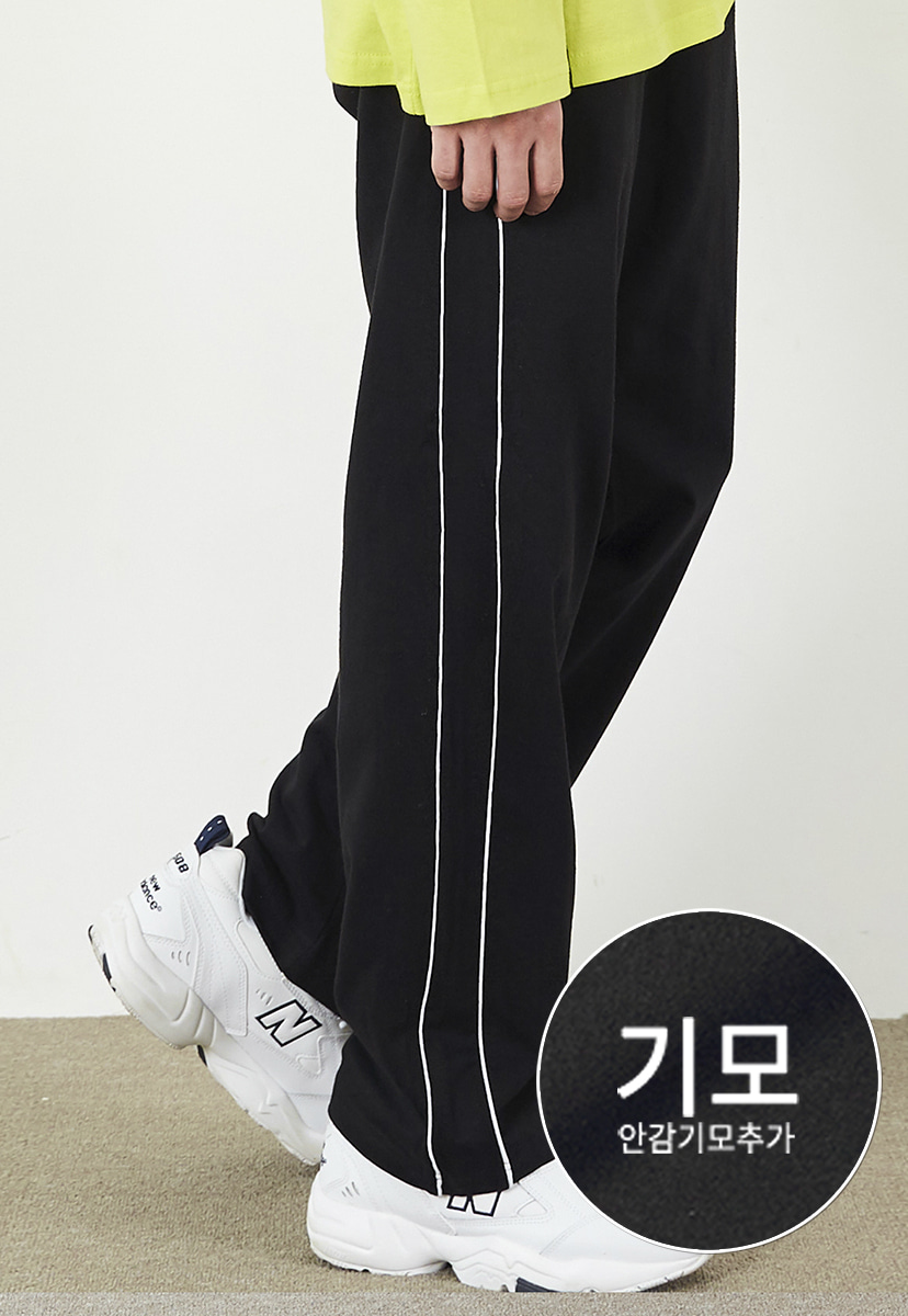 [크럼프] [기모] Crump piping track pants (CP0104g)
