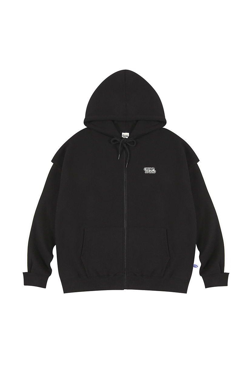[크럼프][기모] Crump studio line hoodie zip-up (CT0232g)