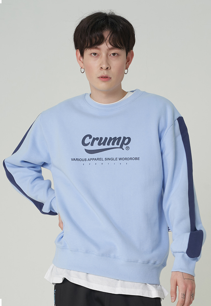 [크럼프][기모] Crump authentic line crewneck (CT0245g-2)
