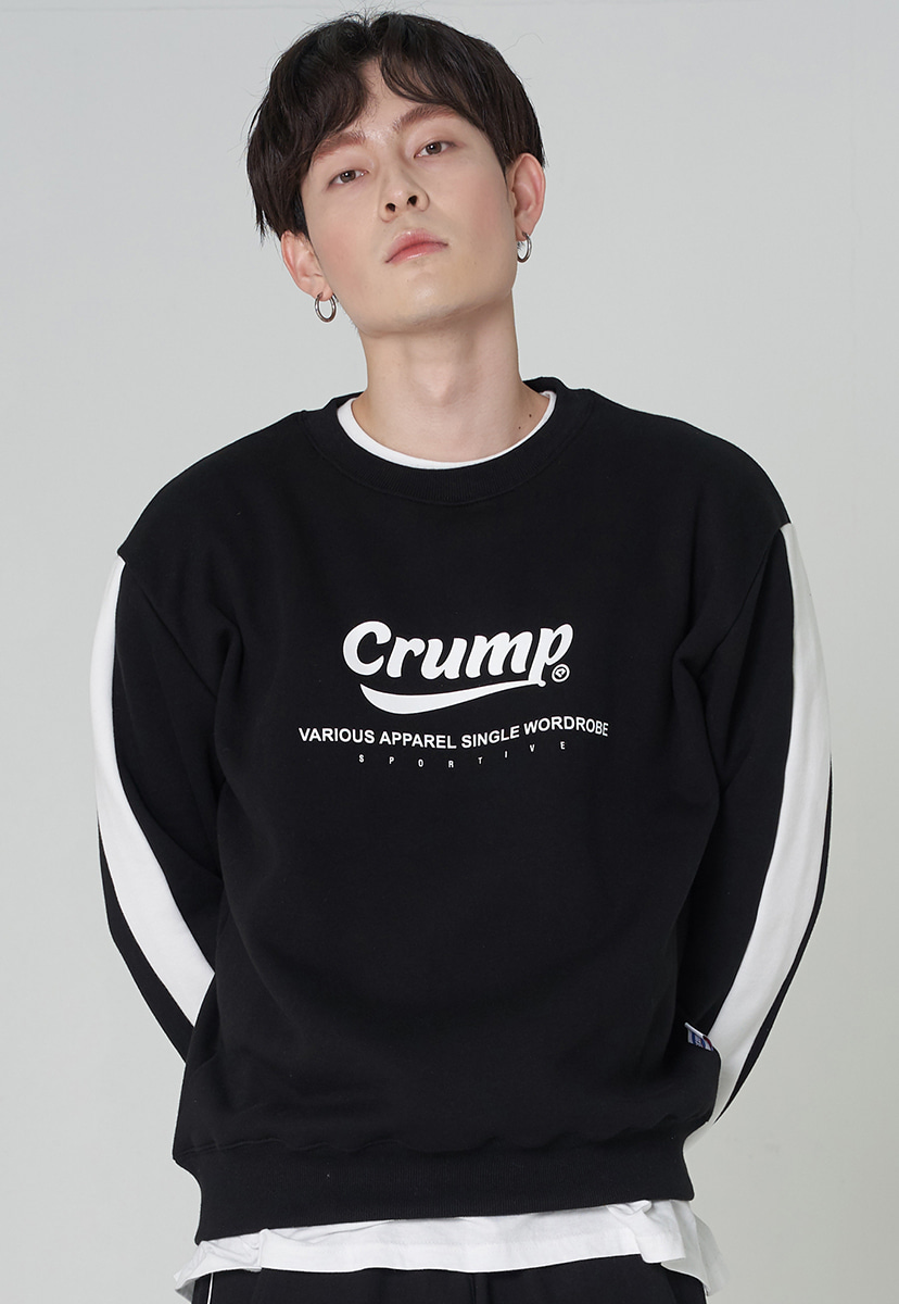 [크럼프][기모] Crump authentic line crewneck (CT0245g)