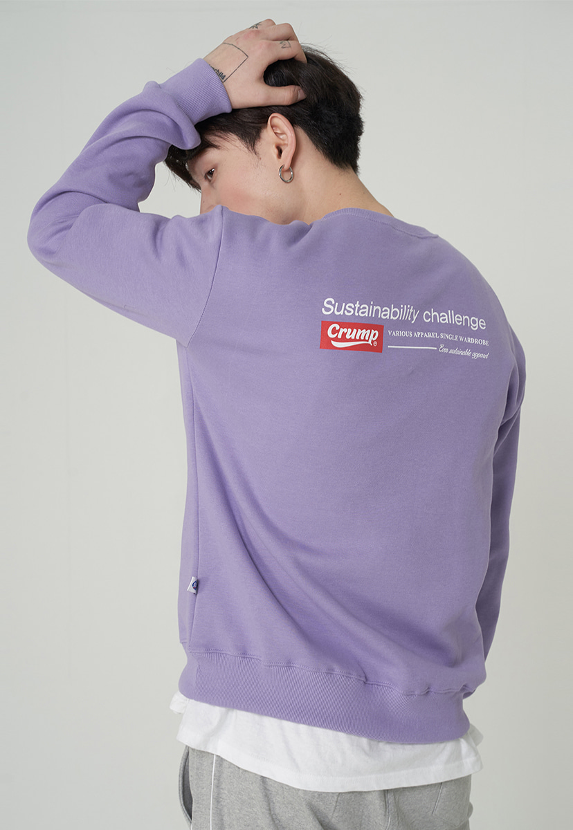 [크럼프][기모] Crump retro soft crewneck (CT0247g-2)