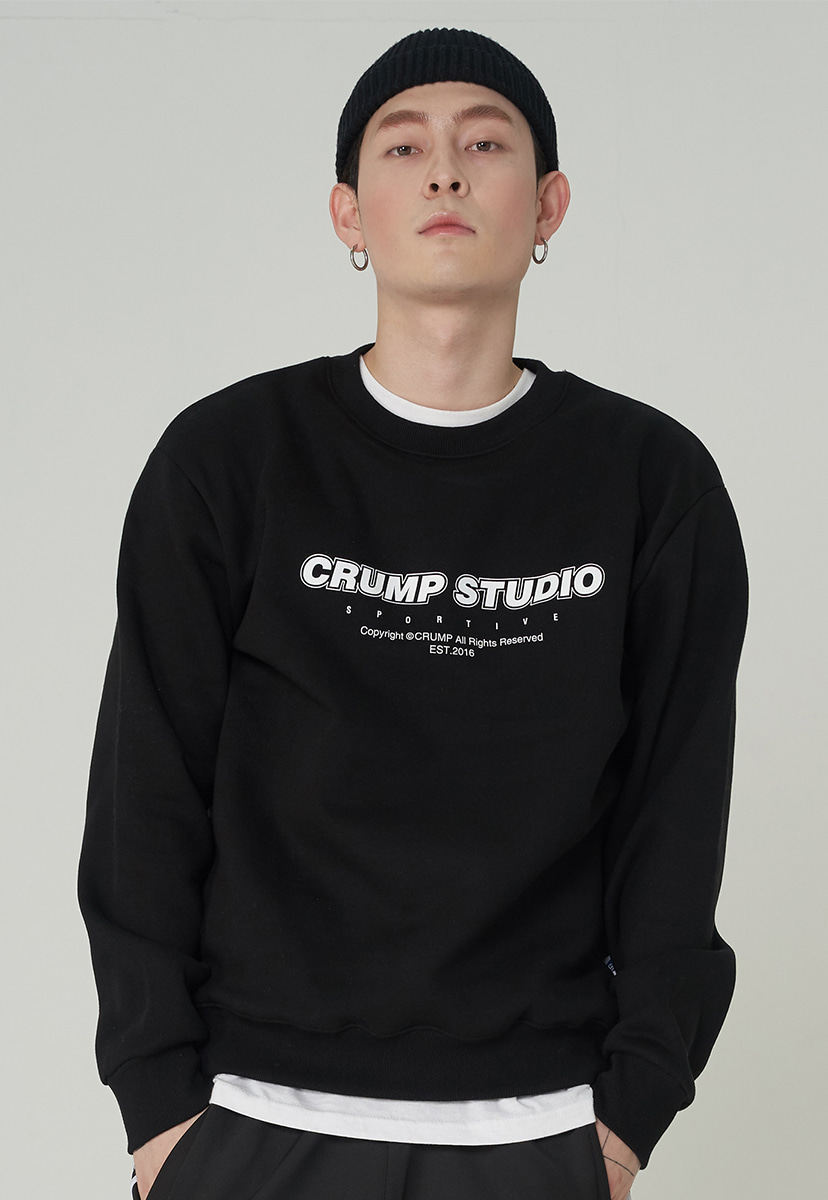 [크럼프][기모] Crump studio spotive crewneck (CT0246g)
