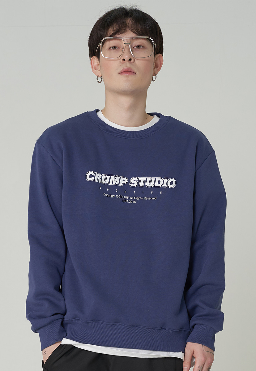 [크럼프][기모] Crump studio spotive crewneck (CT0246g-1)