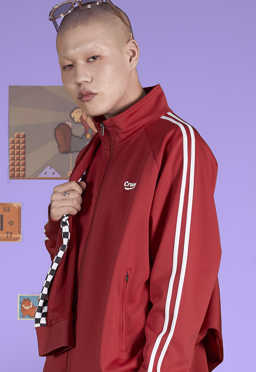 [크럼프] Crump two line track top (CO0043-2)