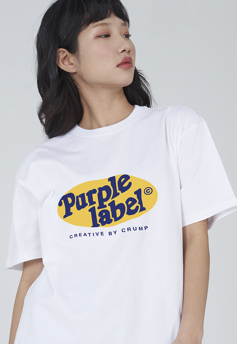 [퍼플라벨] Purple label circle graphic tee (PT0009-2)
