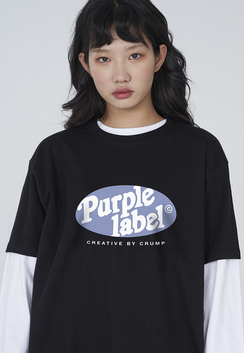 [퍼플라벨] Purple label circle graphic tee (PT0009)