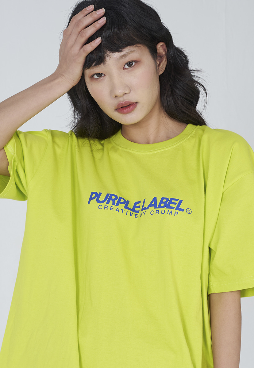 [퍼플라벨] Purple label basic logo tee (PT0002-2)