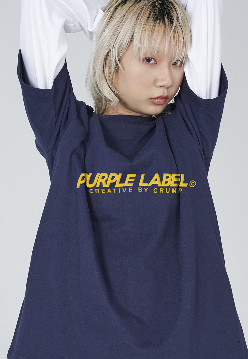 [퍼플라벨] Purple label basic logo tee (PT0002-1)
