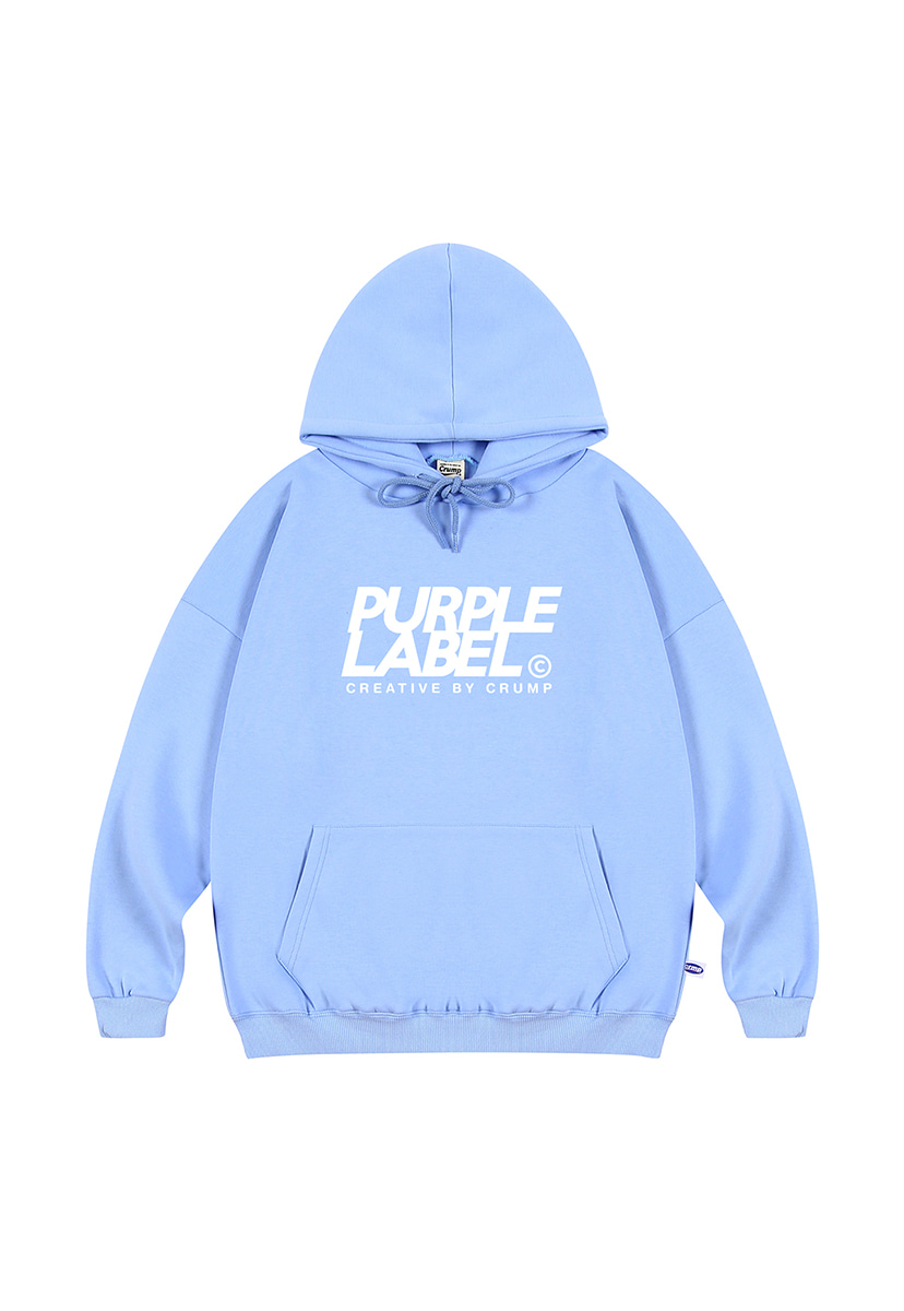 [퍼플라벨] Purple label signature logo hoodie (PT0019)