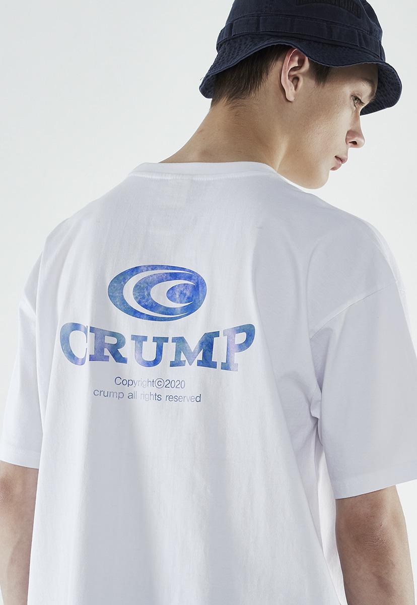 [크럼프] Crump gradation logo t-shirt (CT0260-2)