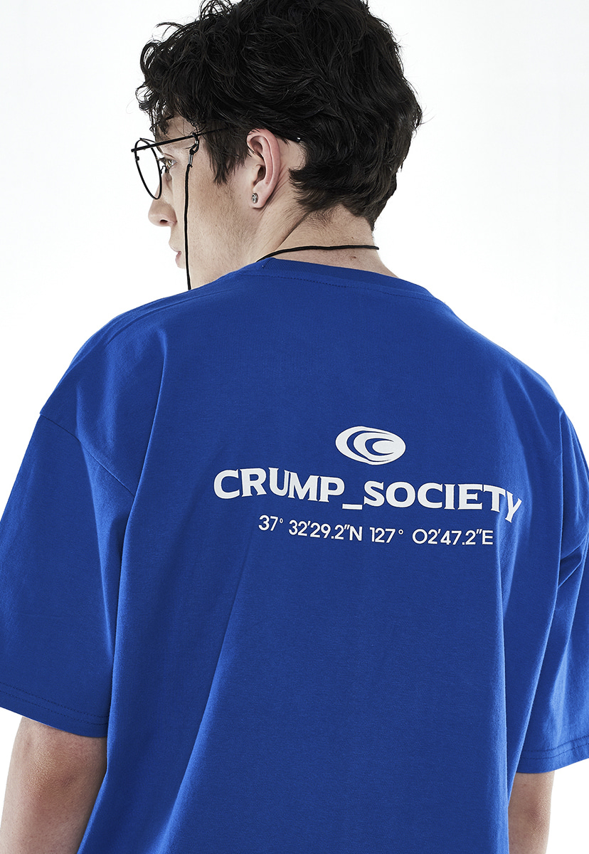 [크럼프] Crump location logo t-shirt (CT0258-2)