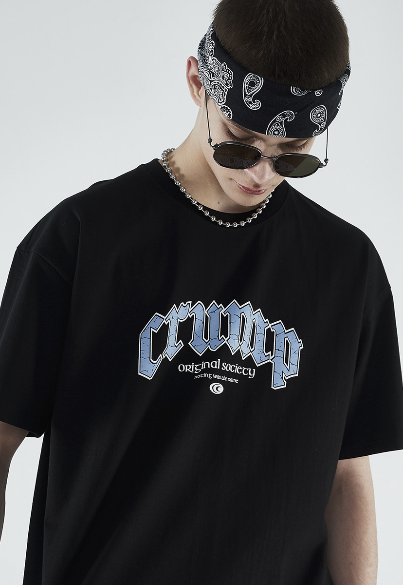[크럼프] Crump scratch arch logo t-shirt (CT0263)