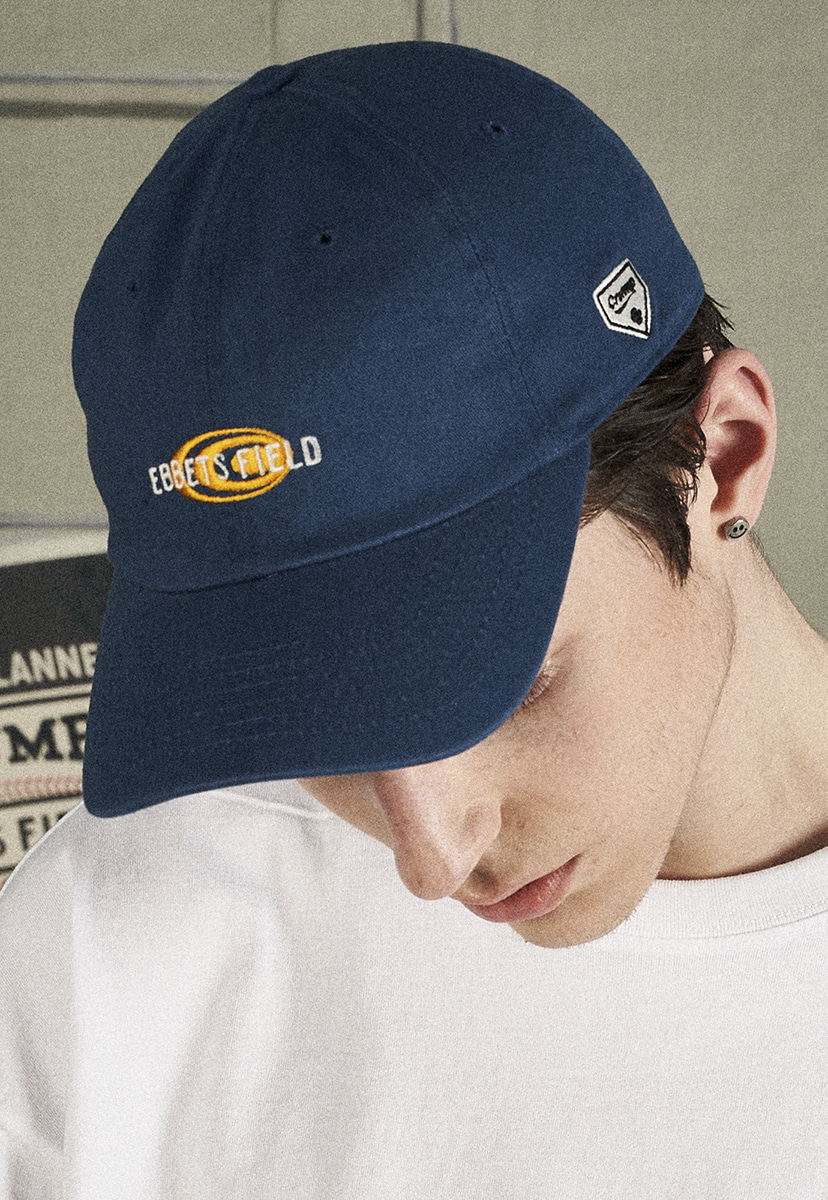 [크럼프X 이벳필드] ORIGINAL LOGO BALL CAP (EA003-1)