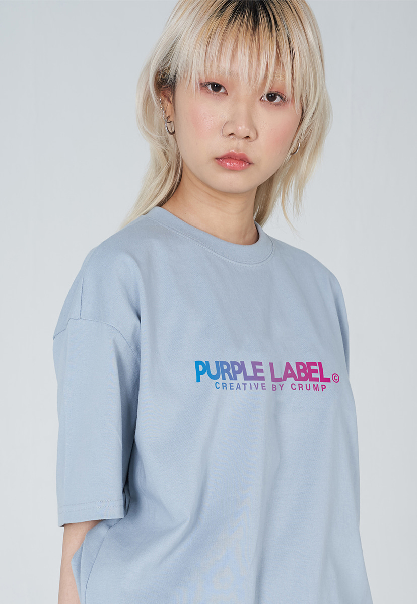 [퍼플라벨] PURPLE LABEL GRADATION LOGO TEE (PT0028-2)