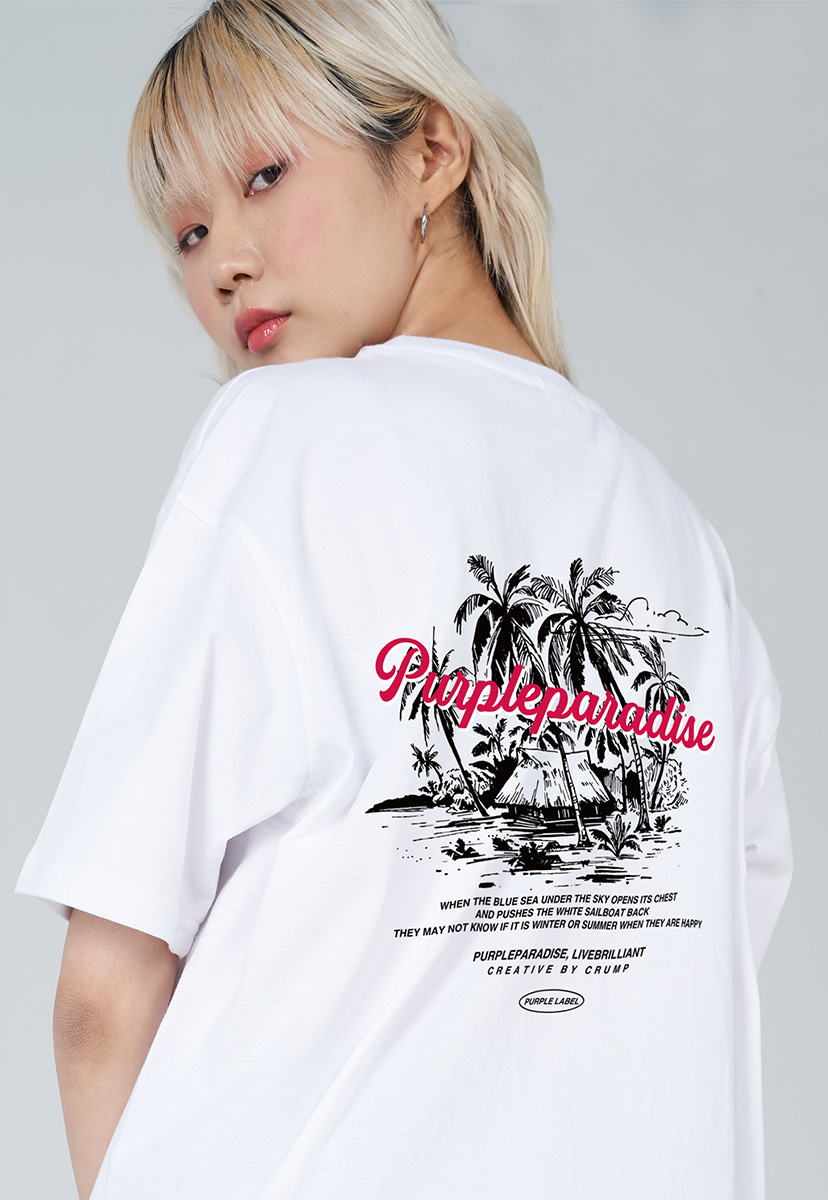 [퍼플라벨] PURPLE LABEL PALM TREE TEE (PT0029-3)