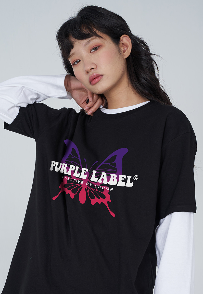 [퍼플라벨] PURPLE LABEL BUTTERFLY TEE (PT0033)