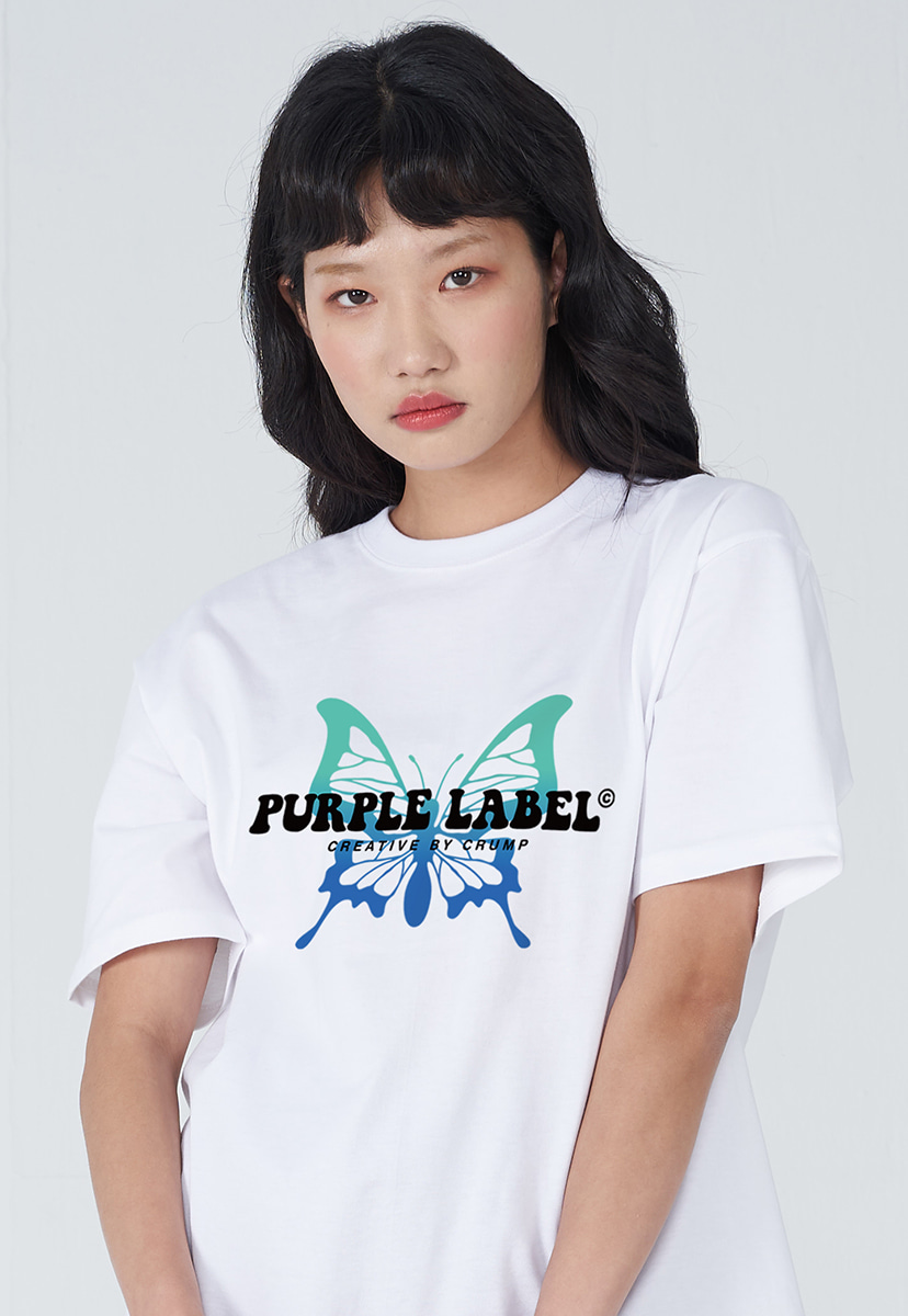 [퍼플라벨] PURPLE LABEL BUTTERFLY TEE (PT0033-2)