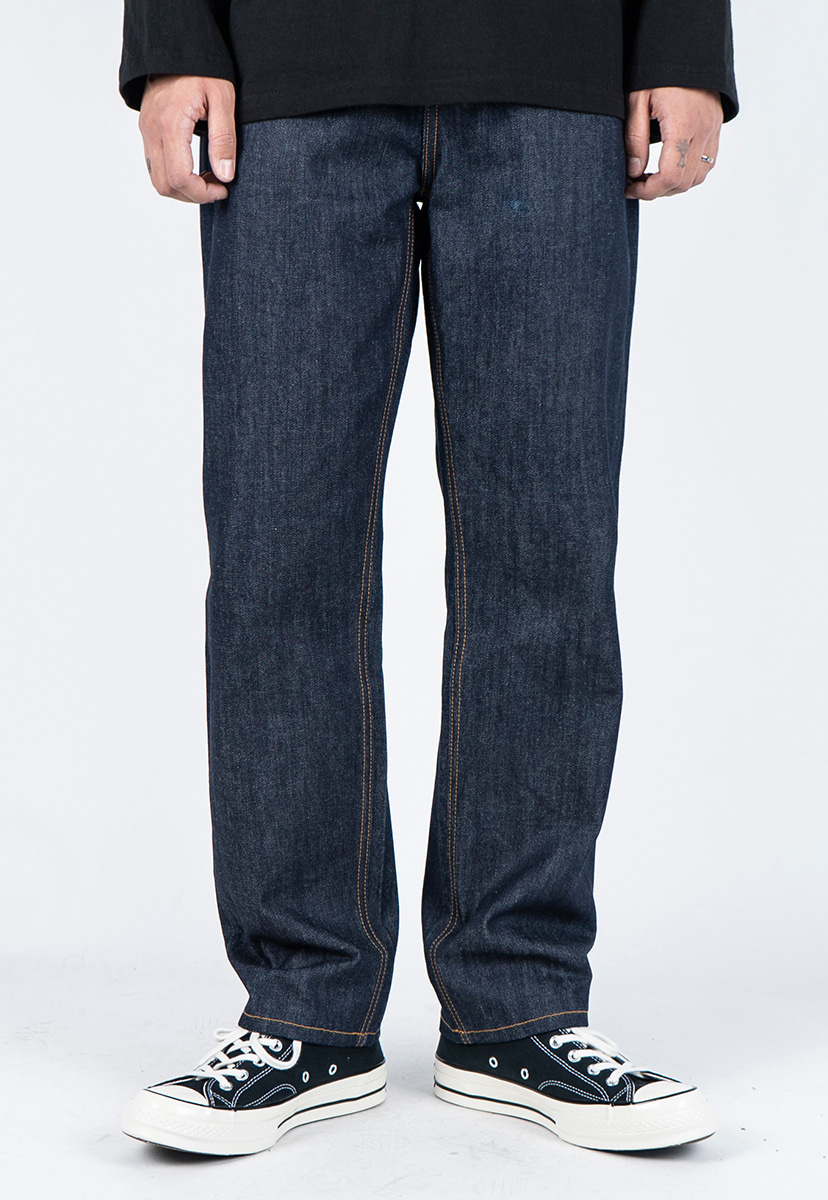[디스리스펙] standard fit washed denim raw (TRP0006)