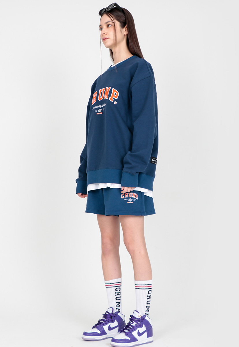 [크럼프] clásico sweatshirt set (CT0292)