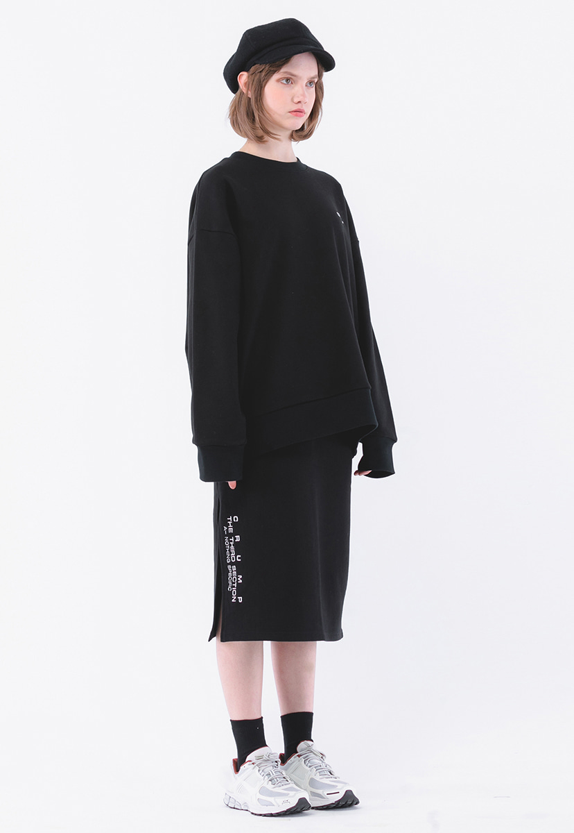 [크럼프] Crump terry sweat skirt set(CB0001)