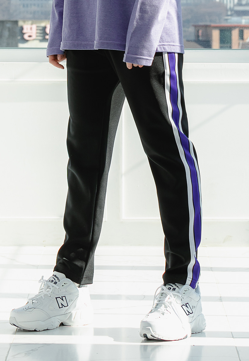 [크럼프] Crump slim color track pants (CP0081-1)