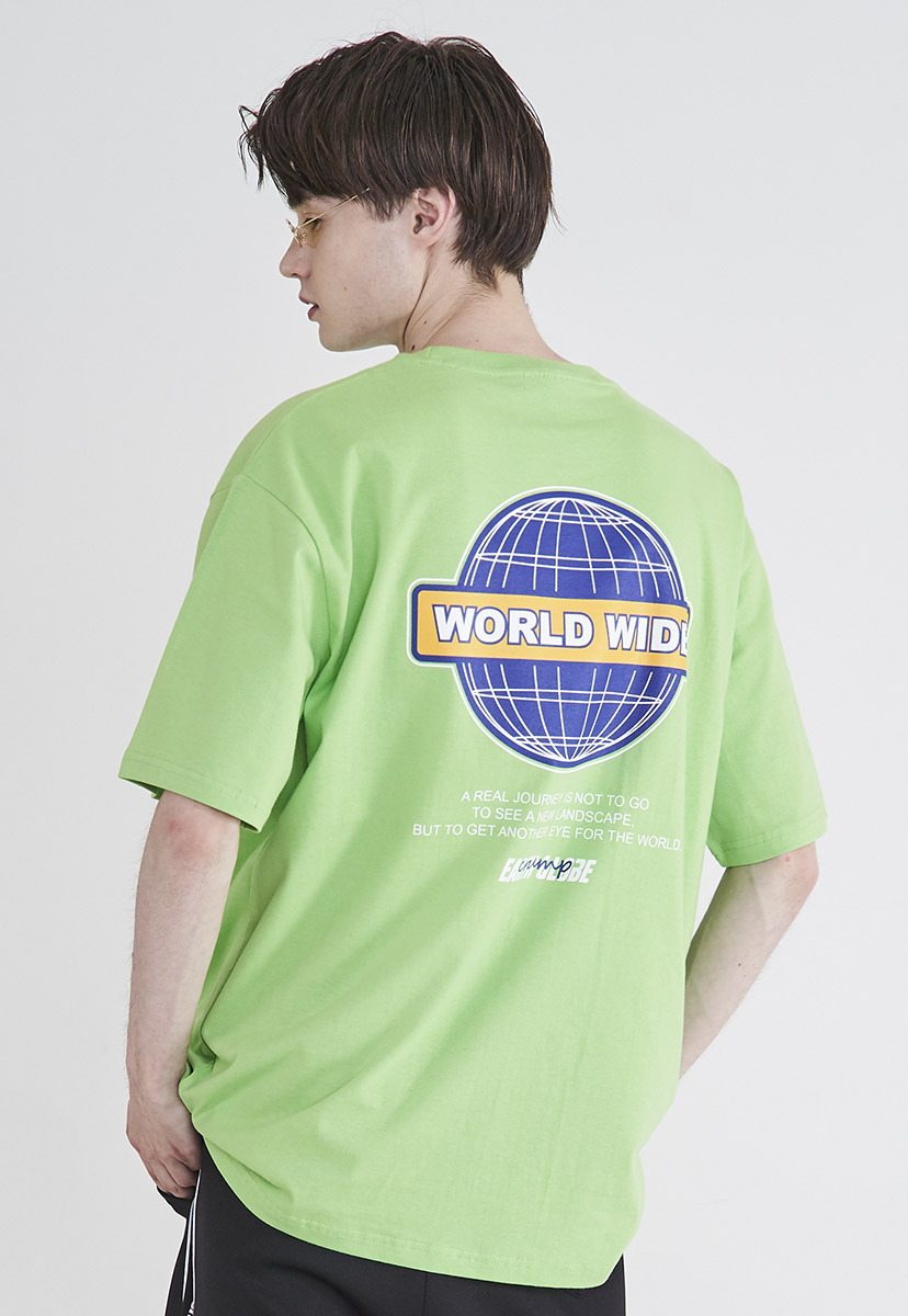 [크럼프] Crump worldwide logo t-shirt (CT0205-1)