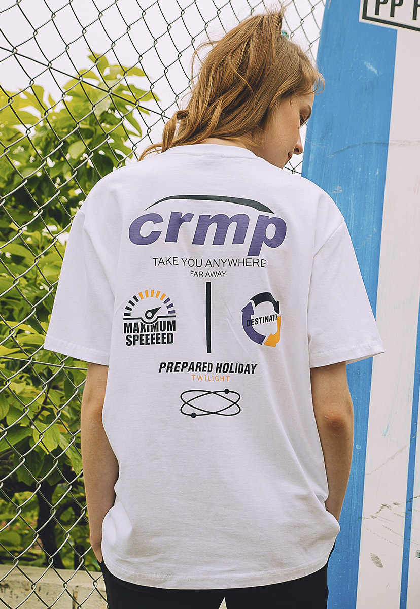 [크럼프] Crump research logo tee (CT0213-2)