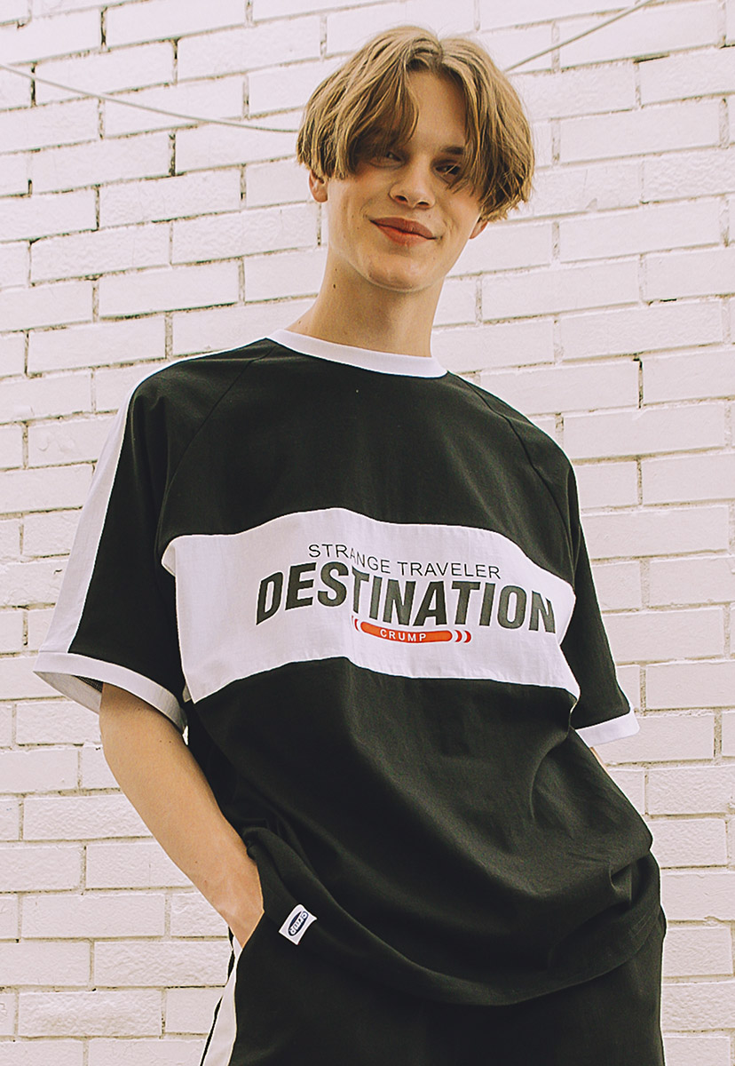 [크럼프] Crump destination tee (CT0215)