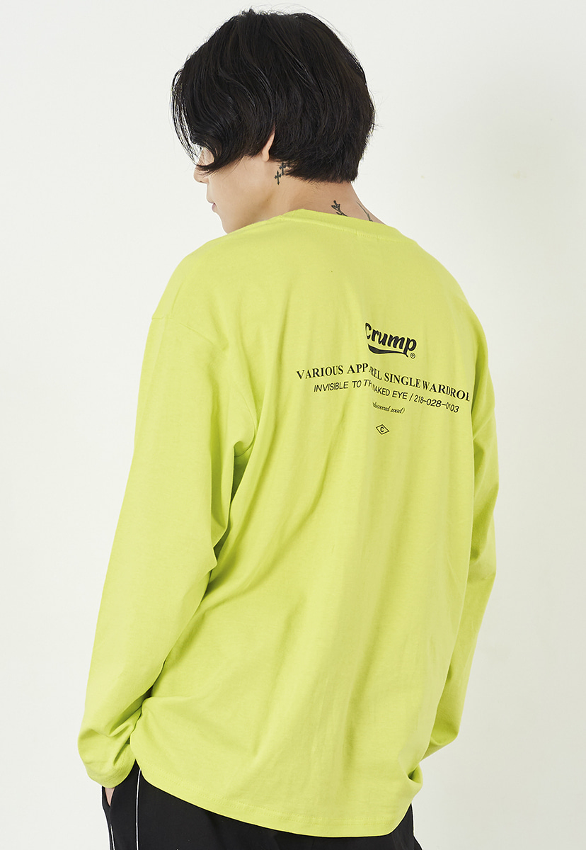 [크럼프] Crump essential long sleeves (CT0221-1)