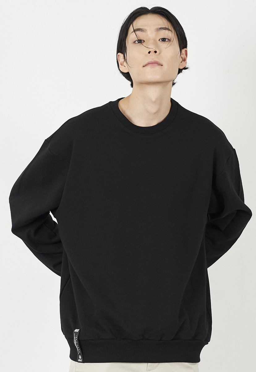 [크럼프] Crump overfit solid crewneck (CT0223)