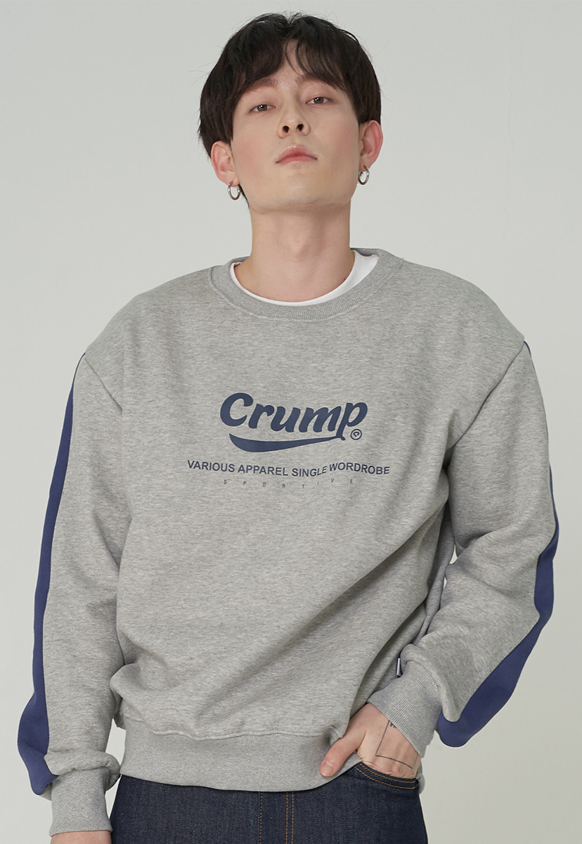 [크럼프][기모] Crump authentic line crewneck (CT0245g-1)