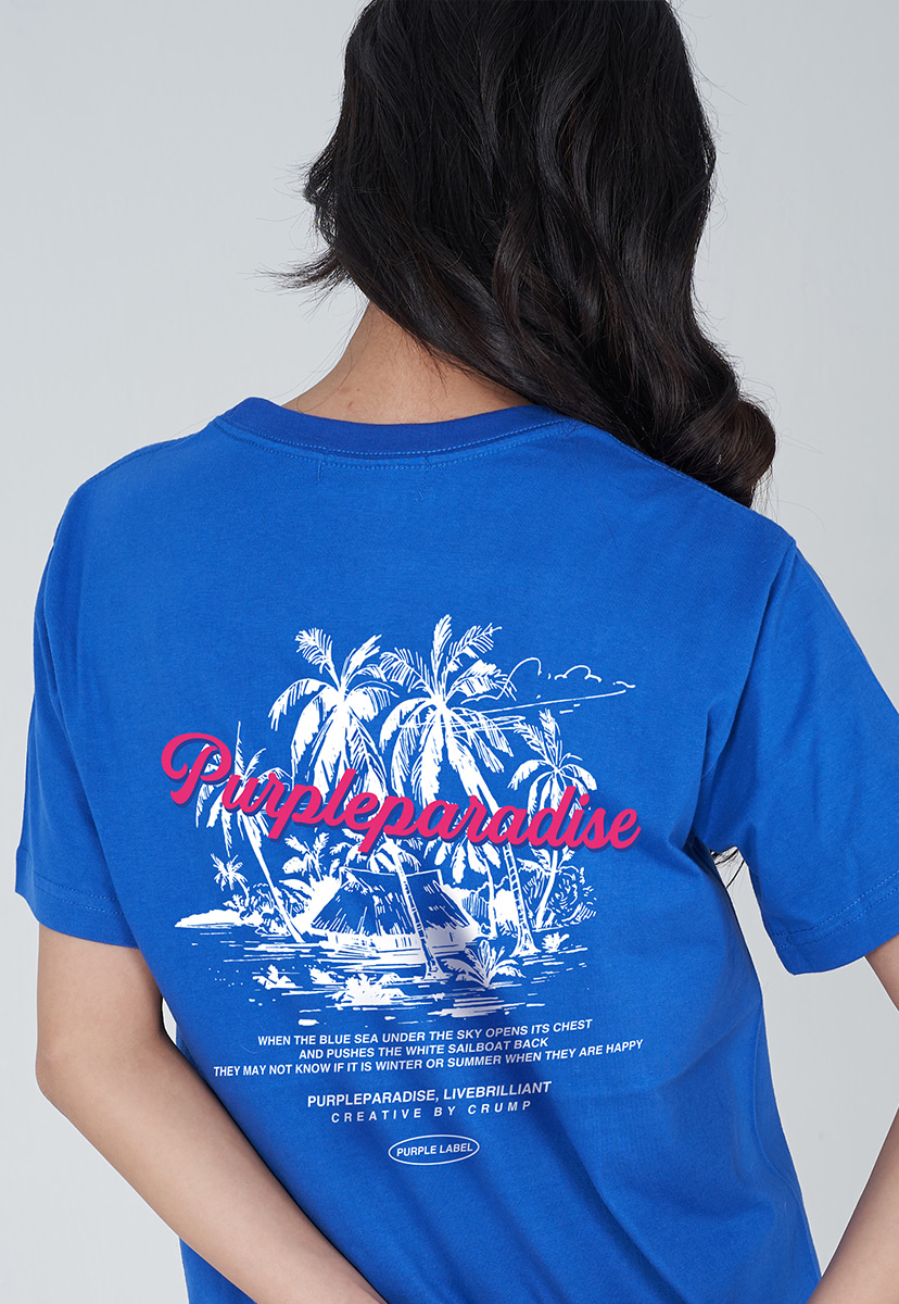 [퍼플라벨] PURPLE LABEL PALM TREE TEE (PT0029-2)