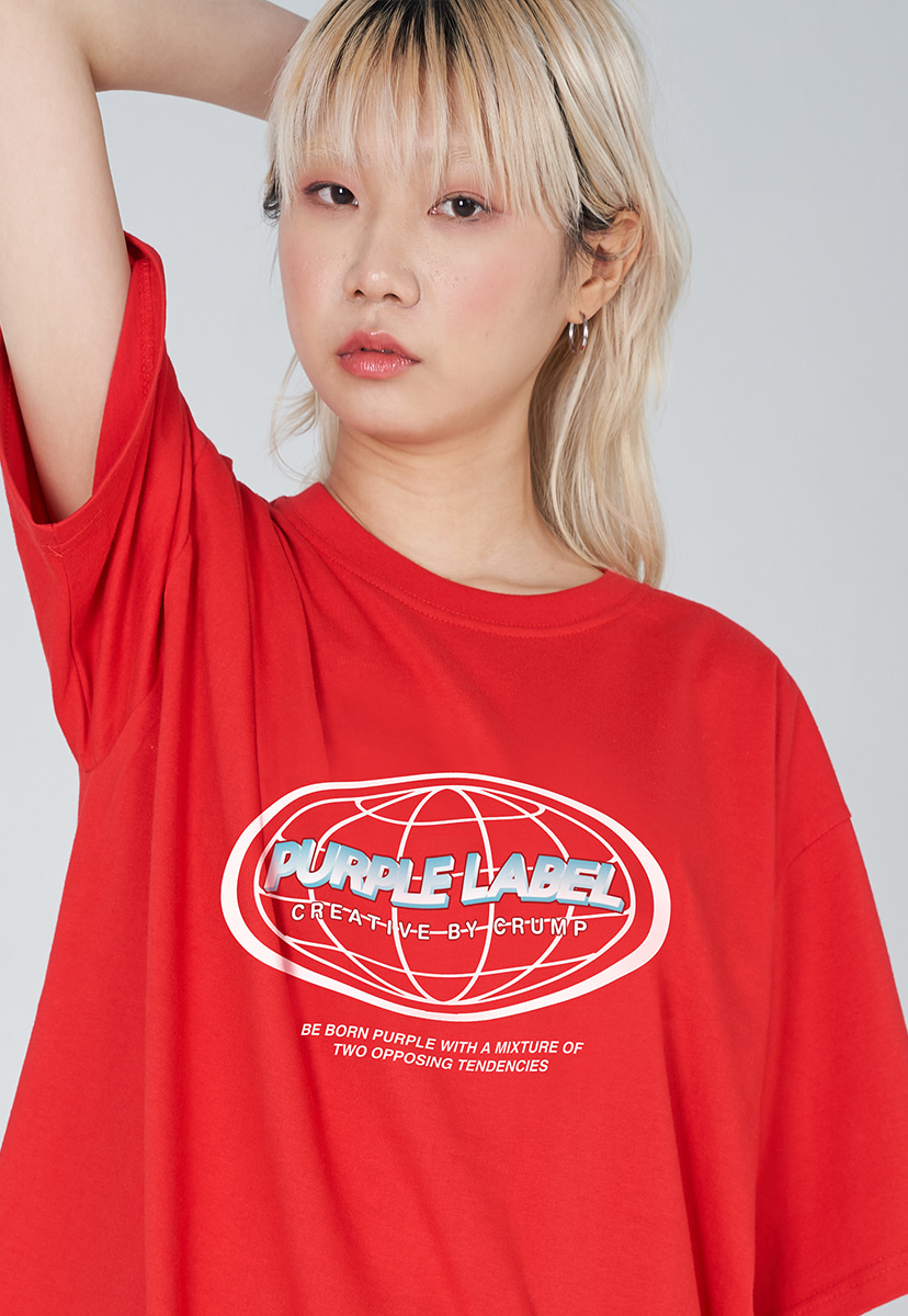 [퍼플라벨] PURPLE LABEL EARTH LOGO TEE (PT0030-2)