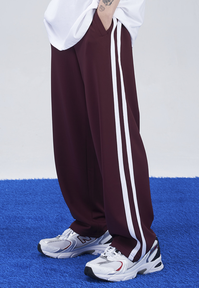 [크럼프] Crump two line wide track pants (CP0146-3)